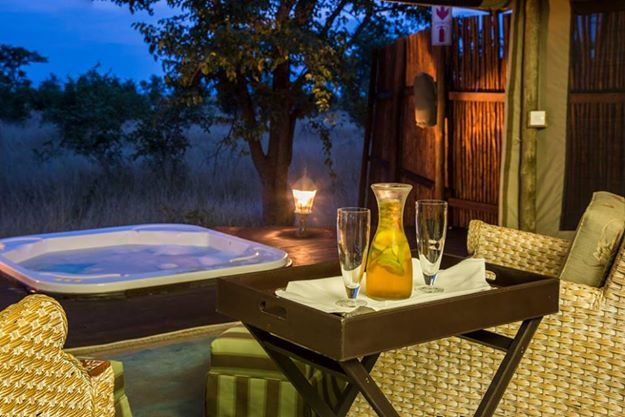 Can you imagine a better way to relax after a safari?