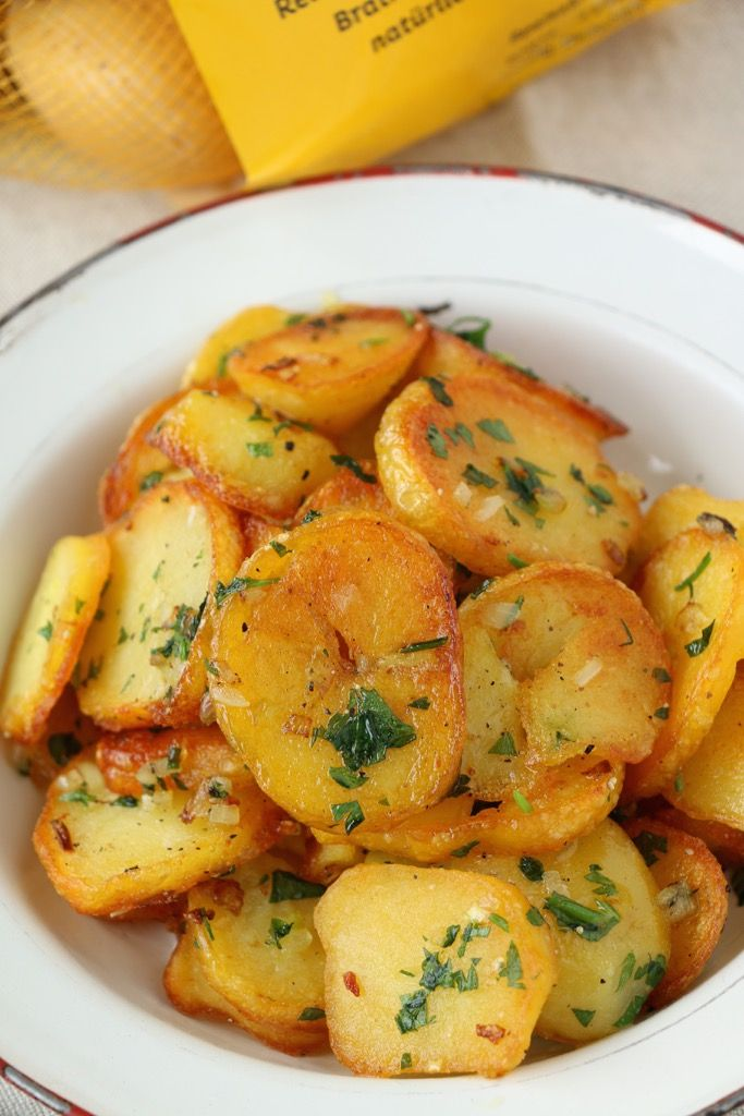 Bratkartoffeln, meine perfekten