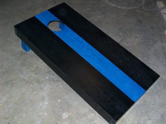 Thin Blue Line Police Sheriff Law Enforcement by OffDutyOutdoorCo,   LOVE THIS!