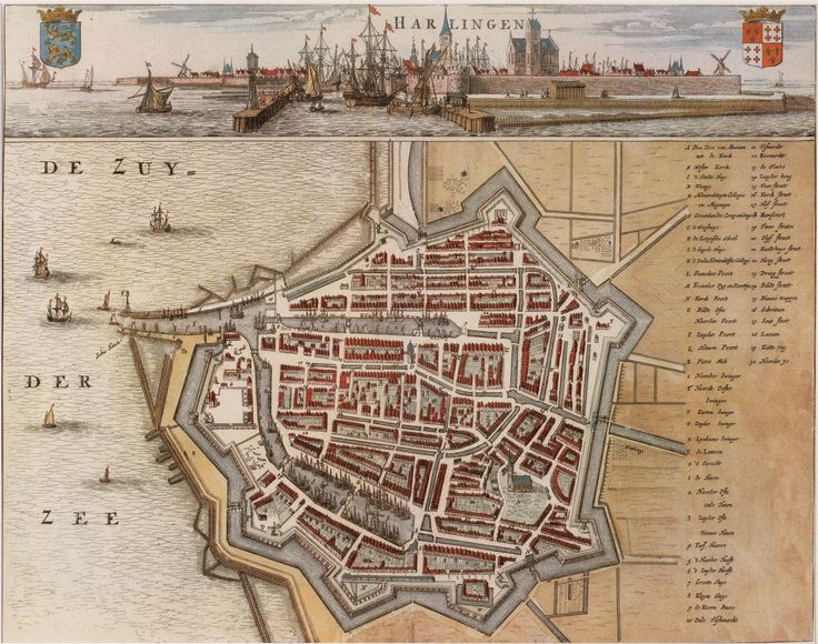 Harlingen, Netherlands, 1664