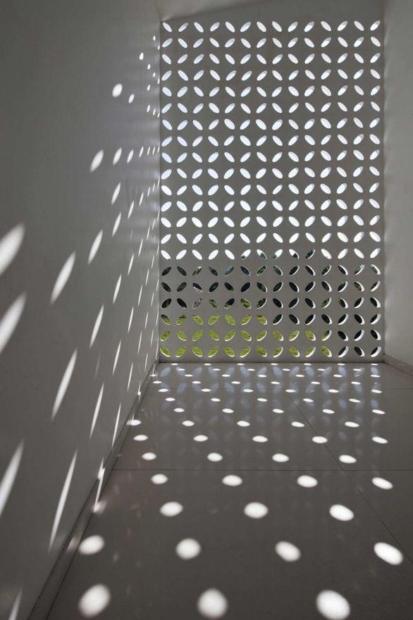 Esto es algo de lo que Arte & Diseño Aplicado puede hacer para vos: paredes caladas.