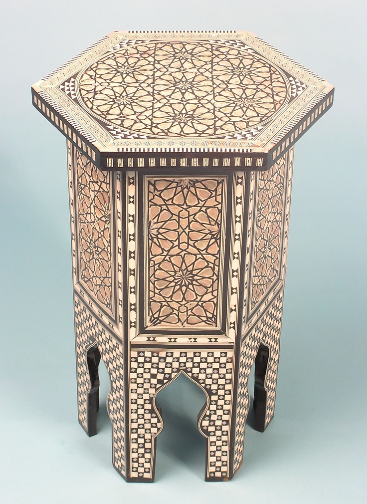 70 Best Images About Inlaid Table Moroccan Syrian