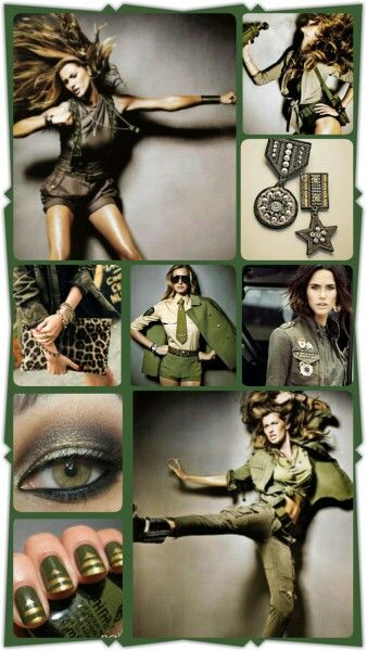 Military Fashion Force