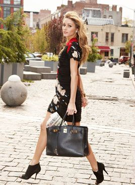 I honestly like 90% of what girlfriend wears. #Olivia Palermo -IB