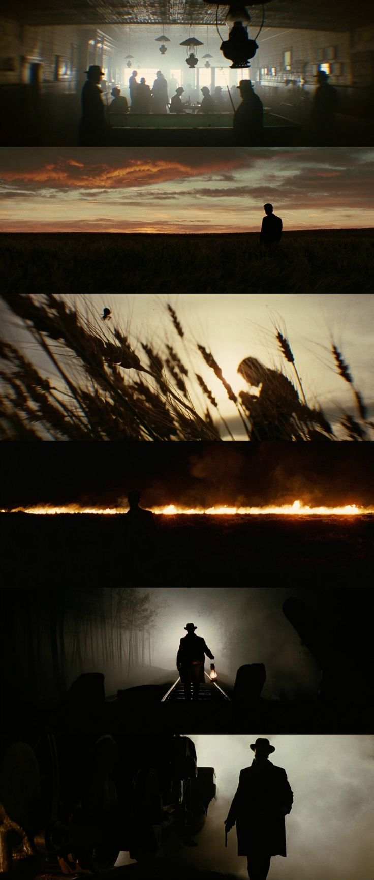 The Assassination of Jesse James by the Coward Robert Ford (2007) Director: Andrew Dominik. Photography: Roger Deakins.
