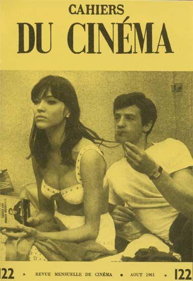 Cahiers du Cinéma 1961 Anna Karina & Jean-Paul Belmondo