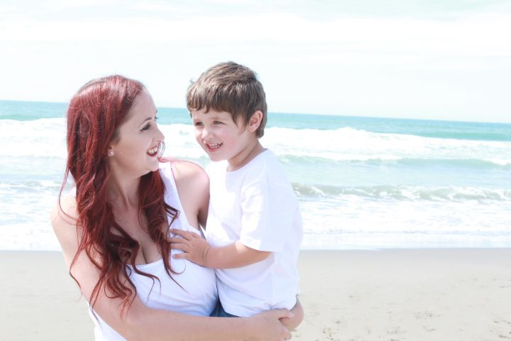 Mum and son portraits. Christchurch, New Zealander. PORTFOLIO - Time2Shine Photography