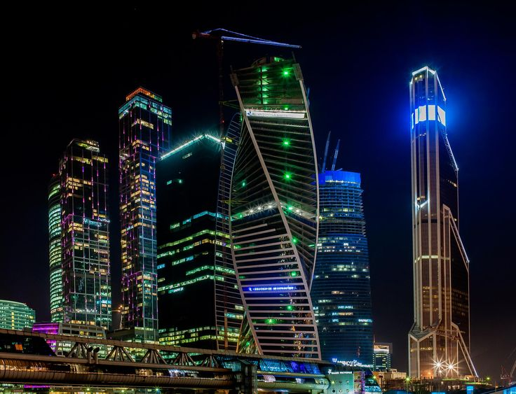 Moscow City , Russia by Aleksei Golubovich on 500px