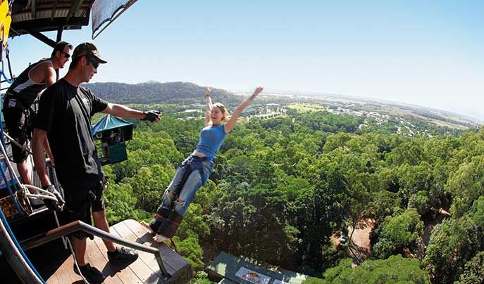 Bungee Jumping in Cairns, Australia