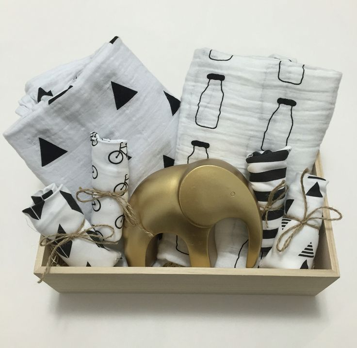 40 best barbona baby images on pinterest gift boxes wine gift black and white baby gift box baby welcome basket organic cotton muslin swaddles negle Choice Image