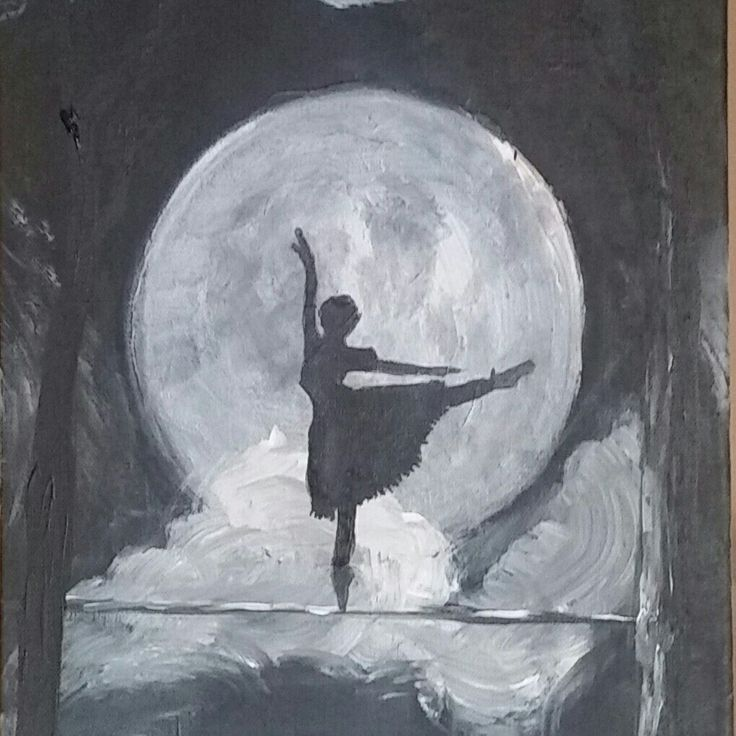 Moon dancing by night oil