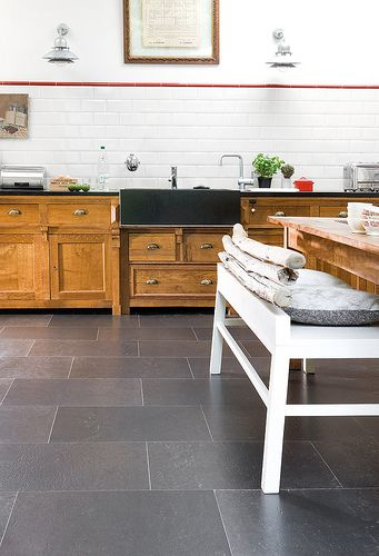 Cork Flooring: Kitchen by Real Cork Floors, via Flickr. I'M IN LOVE WITH CORK FLOORING!!