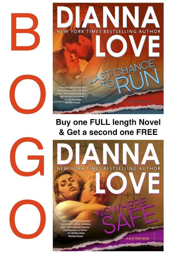 Last Chance To Run & Nowhere Safe: BOGO 2 book set: Slye Temp 2 book set - Kindle edition by Dianna Love. Romance Kindle eBooks @ Amazon.com.