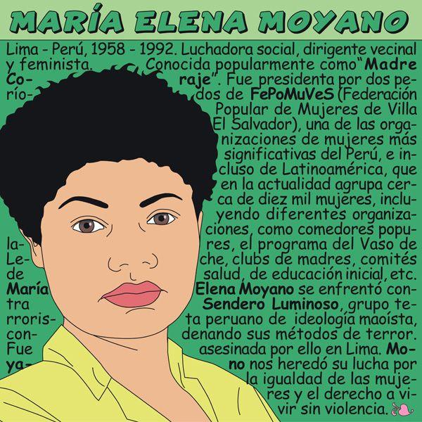 Maria Elena Moyano Elementary Spanish, Teaching Spanish, Feminist Articles, Teaching Culture, Female Heroines, Study Spanish, Hispanic Heritage Month, Classroom Language, Intersectional Feminism
