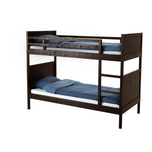 NORDDAL Bunk bed frame   - IKEA Not sure I ever saw this.  I think this is the winner!!  It can become 2 single beds.