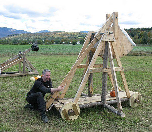 7 Best Diy Trebuchet Images On Pinterest Catapult Knight And Firearms