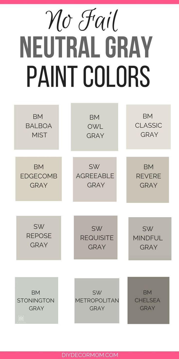 Need The Best Gray Paint Colors These Light Gray Paint Colors Are The Best Gray Paint Colors S Grey Paint Colors Paint Colors For Home Light Grey Paint Colors
