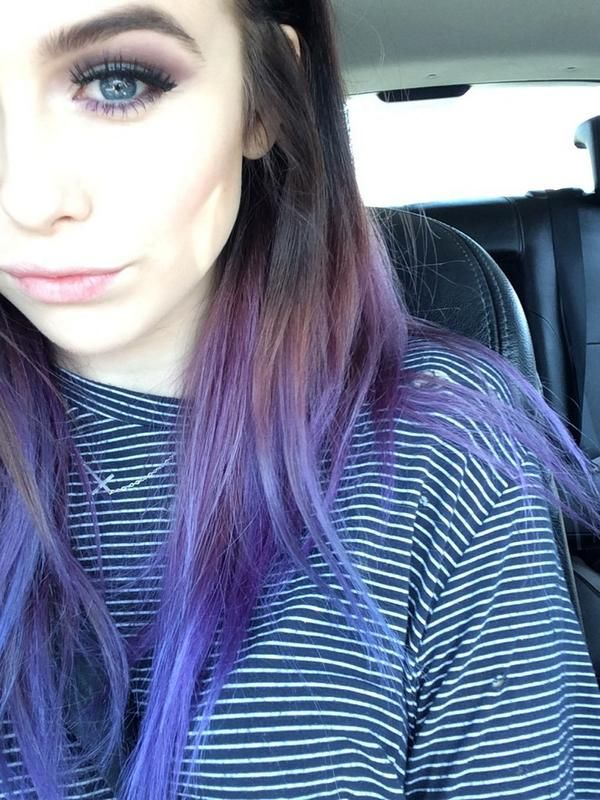 Best 25 best purple hair dye ideas on pinterest best for Purple makes you feel