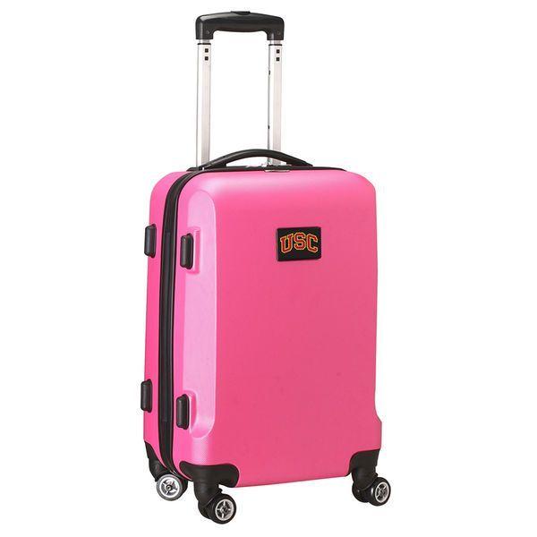 "USC Trojans 20"" 8-Wheel Hardsided Carry-On - Pink - $159.99"