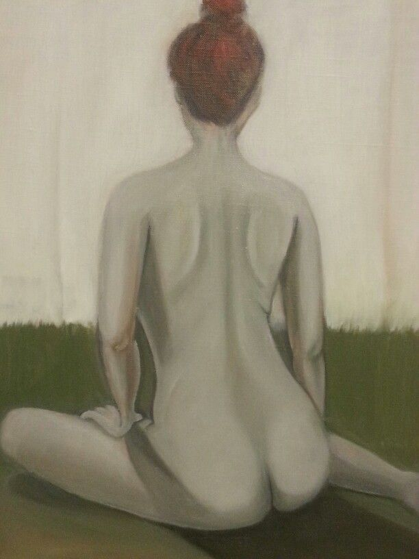 Back. 2013. 45.5 x 53.0cm. Oil on Canvas.