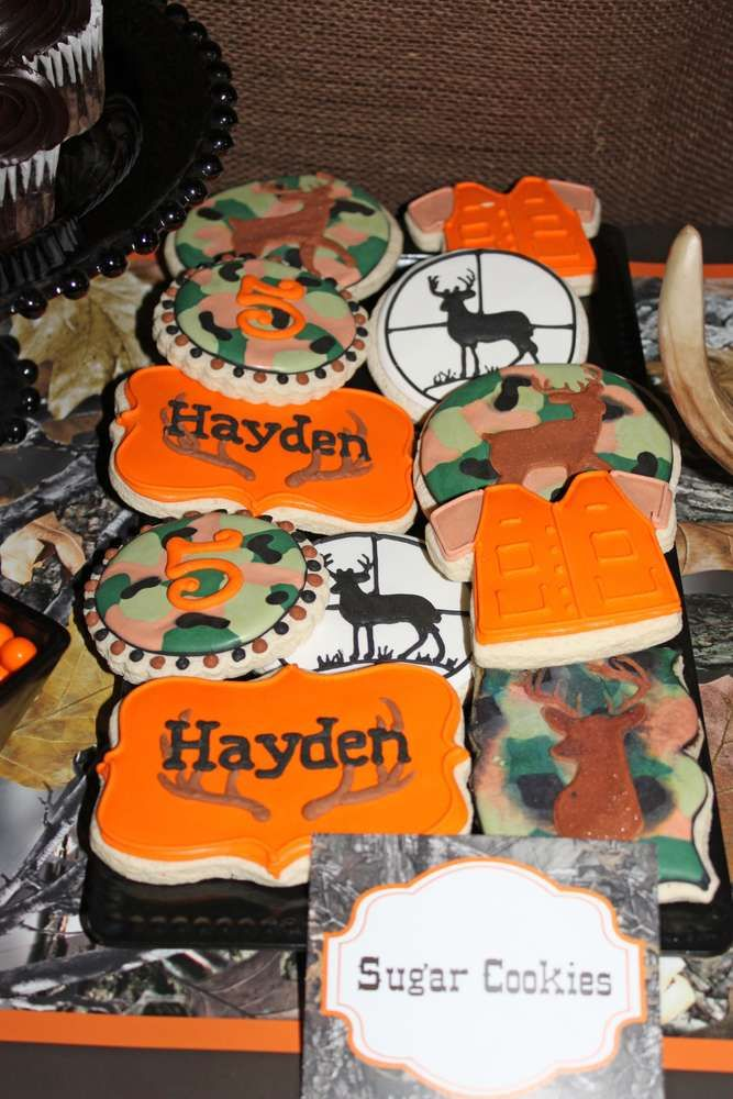 Camo deer Hunting  Birthday Party Ideas | Photo 6 of 20