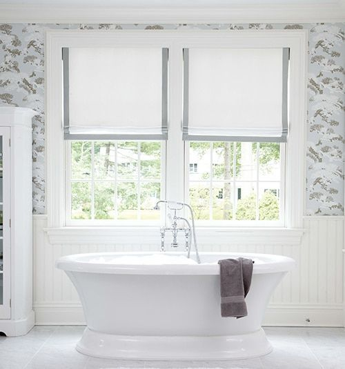 Do It Yourself Window Treatments: Designer Roman Shades: Solids In 2019