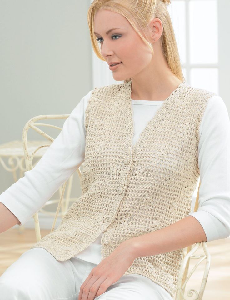 17 Best ideas about Crochet Vest Pattern on Pinterest ...