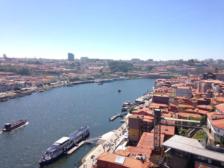 Vista da ponte D.Luis I  📌Pinterest: sandrafilipa17 📌