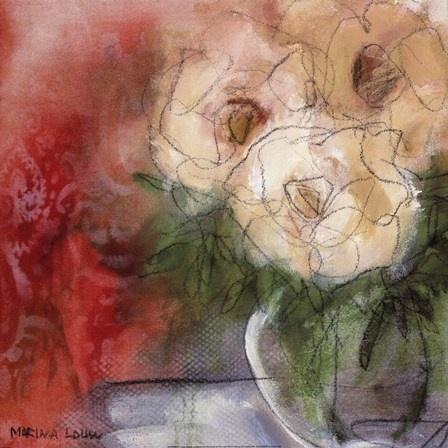 Artist: Marina Louw, South Africa; Bouquet I
