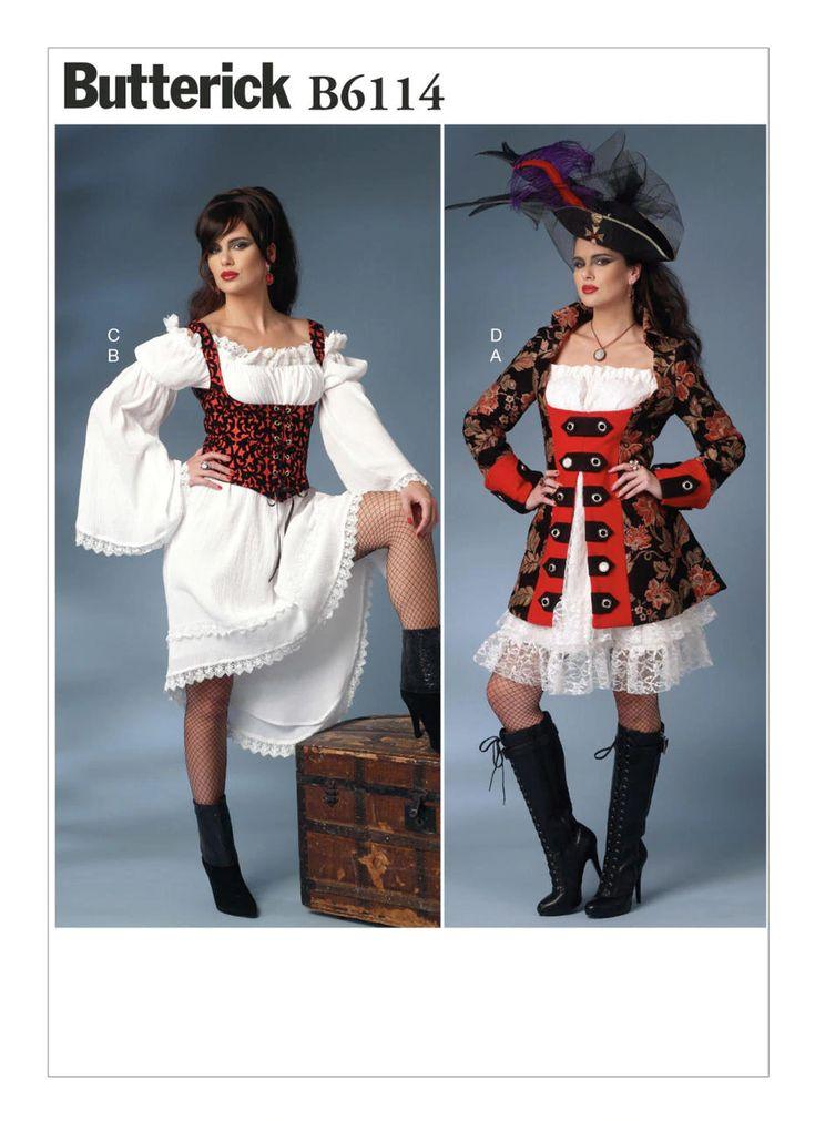 B6114 jacket puff sleeve dresses and underbust vest