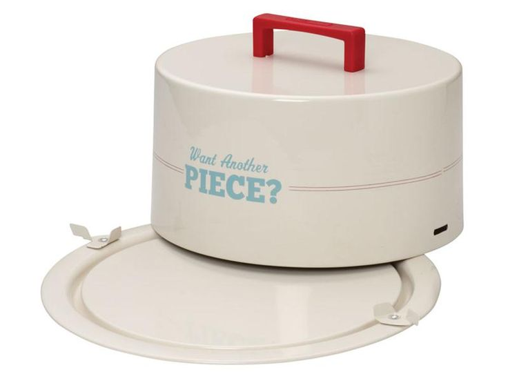 """Cake Boss 9-in. """"Want Another Piece"""" Cake Carrier 