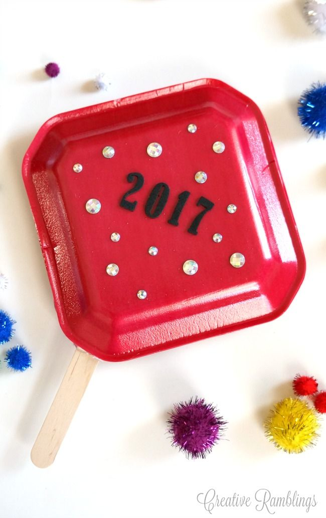 Make These Simple Kids Noise Makers For A Fun And Festive New Years Eve Party