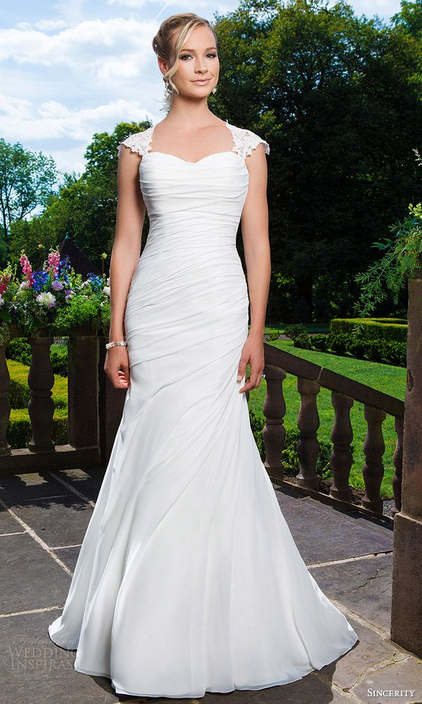 17 best images about cap sleeves on pinterest modest for Modest wedding dresses seattle