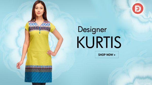 Designer Kurtis on huge discount up to 60% off only on #FarziDeal.
