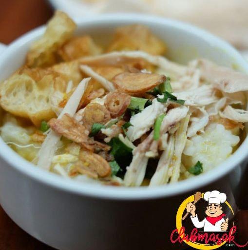 Bubur Ayam Bandung Club Masak Masakan Resep Masakan Indonesia