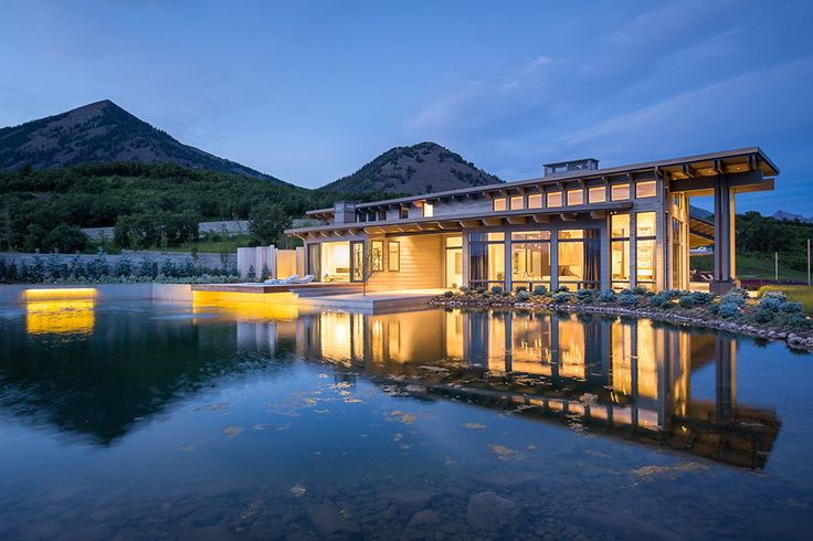 The southwestern Colorado home features a range of contemporary  amenities