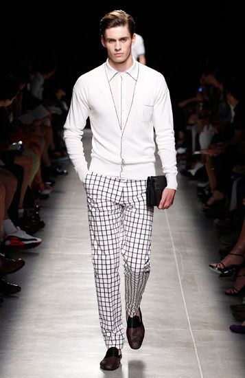 Bottega Veneta Men's Fashion 2014.