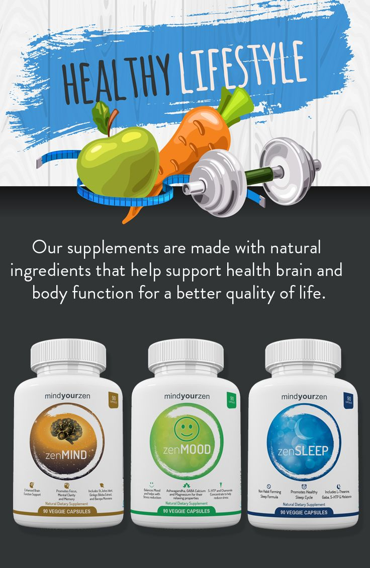 Our line of supplements help you boost mental performance