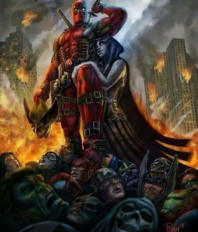 Deadpool And Lady Death 17 Best images about M...