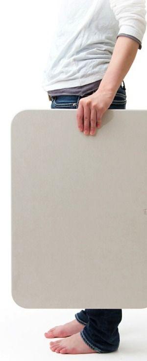 soil バスマット ライトの従来製品との比較|素敵な家具の写真日記