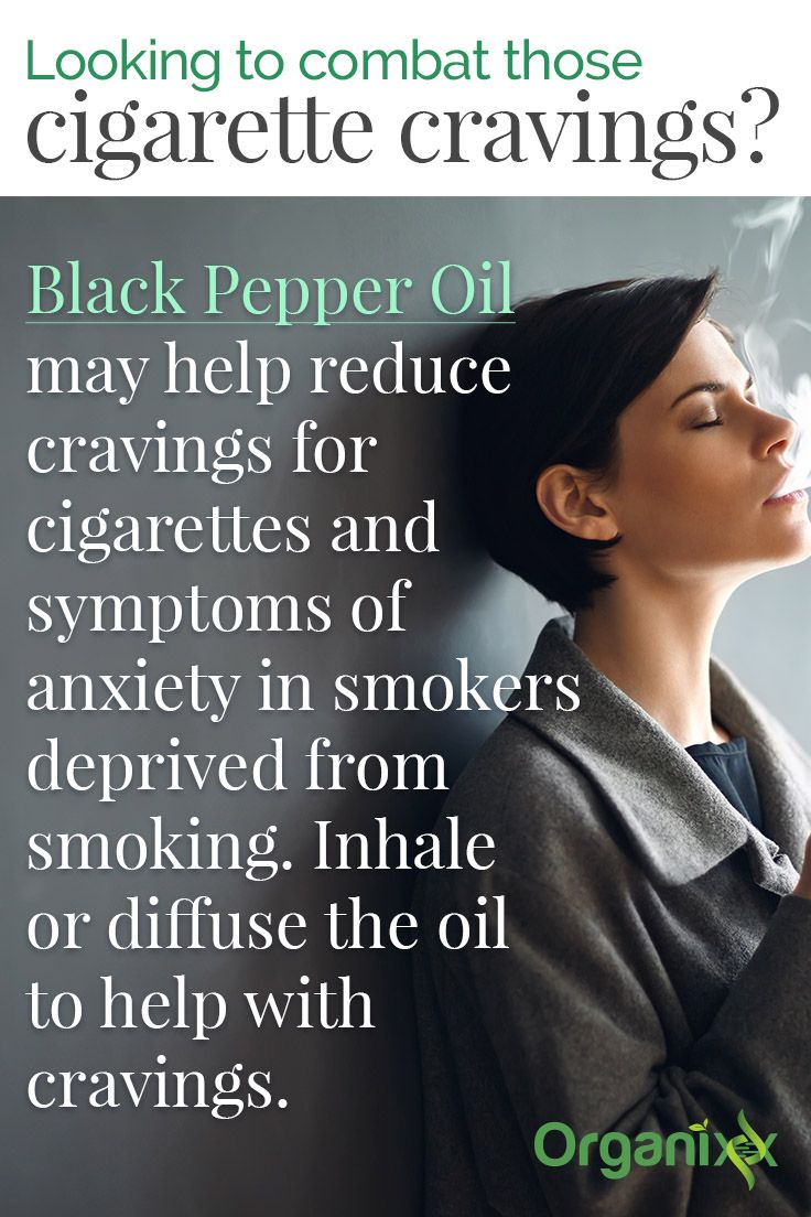 Tip to Quit Smoking: Looking to combat those cigarette cravings? Black Pepper Oil may help reduce cravings for cigarettes and symptoms of anxiety in smokers deprived from smoking. Inhale or diffuse the oil to help with cravings. Click through to learn more on how clinical trial about consuming curcumin can help smokers reduce the likelihood to develop colorectal cancer. Check it out!