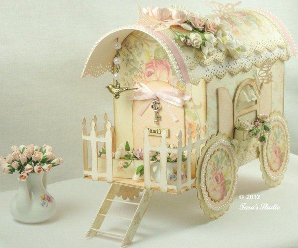 for a shabby chic fairy..this is beautiful!