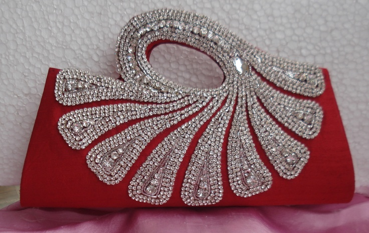 10 Best Images About Indian Bridal Clutch Bag On Pinterest | Indian Bridal Silk And Indian