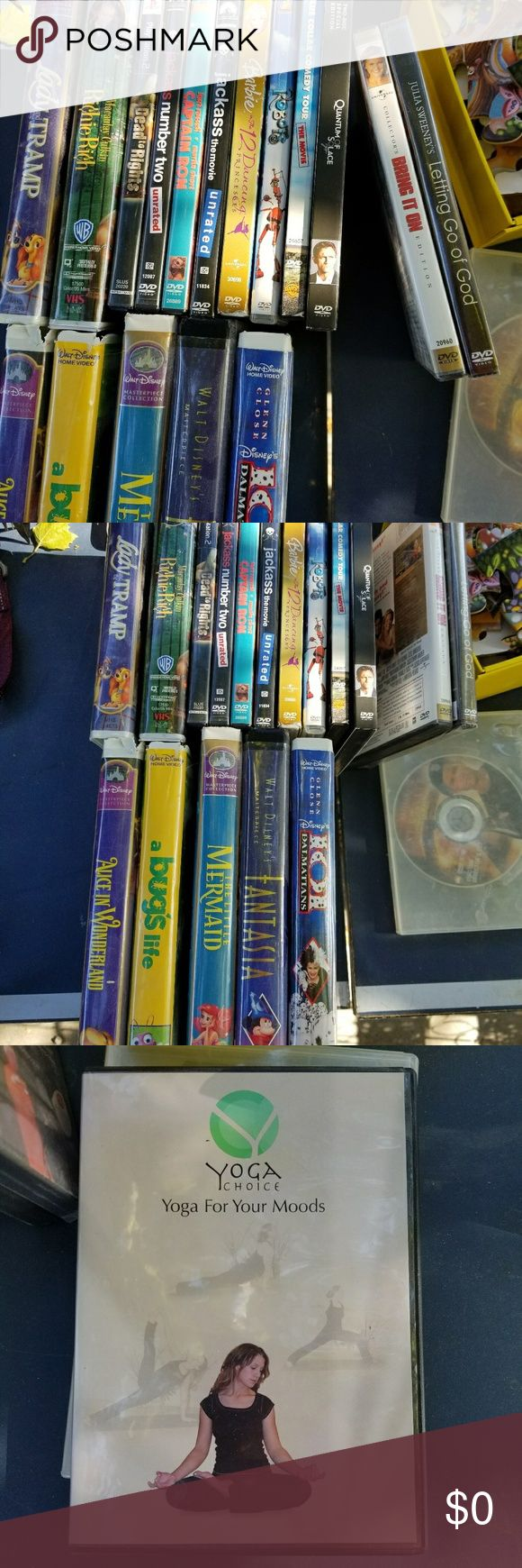 Free movie of your choice with any purchase! This weekend only, free movie of your choice with any purchase!!! After you complete any order,  write me a,message and let me know which movie you would like. I will update as they sale. Fri, Sat and Sunday or until gone, whichever comes first! Other