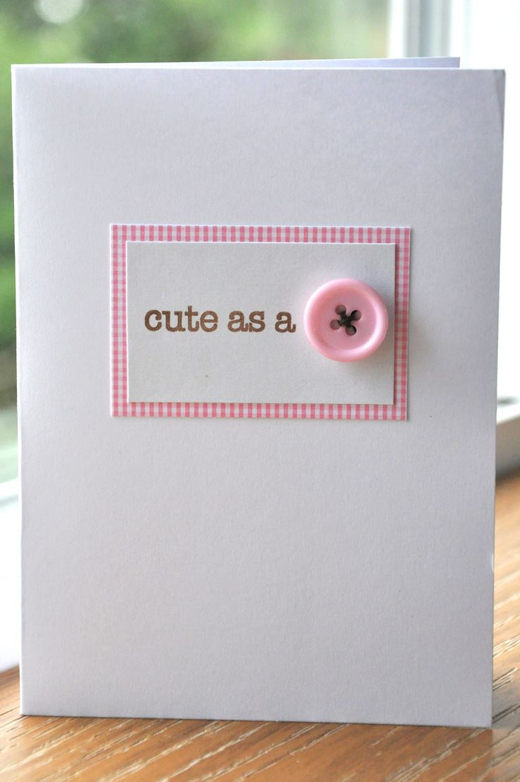 Cute as a button - Scrapbook.com -- @ Christina J