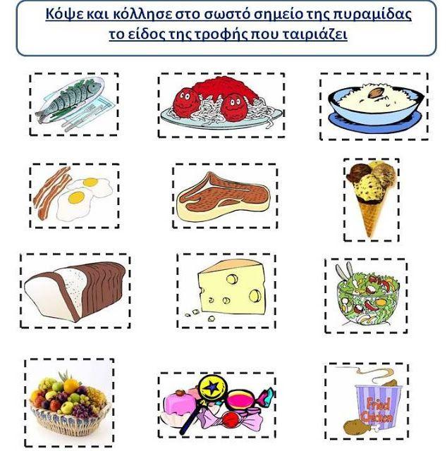 Δραστηριότητες, παιδαγωγικό και εποπτικό υλικό για το Νηπιαγωγείο: Παγκόσμια Ημέρα Διατροφής: 16 Οκτωβρίου - Φύλλο Εργασίας