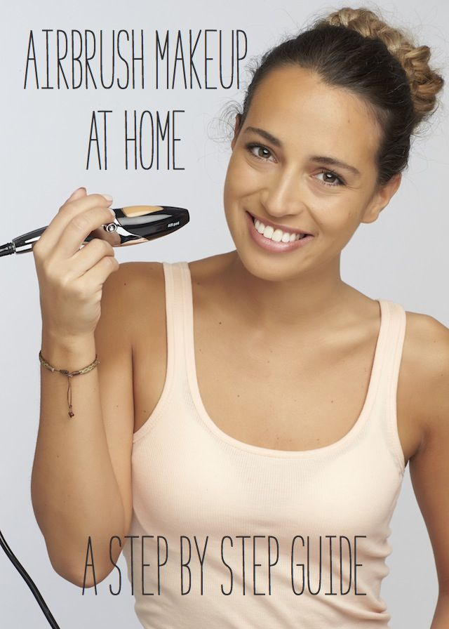 How to airbrush your own makeup at home & discount code for airbrushing system from @TEMPTU AIRBRUSH MAKEUP AIRBRUSH MAKEUP ⎪ see more on:  http://burnettsboards.com/2014/06/apply-airbrush-makeup-home/ #makeup #beauty #airbrushmakeup #airbrush