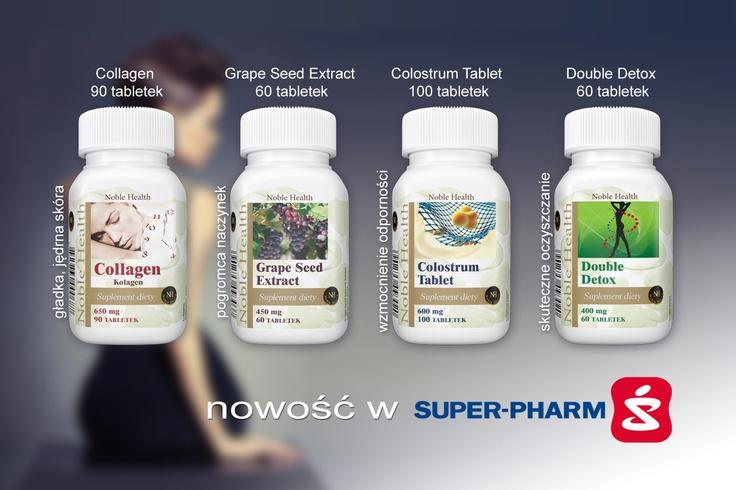 Poznałyście juz nasze nowości Noble Health? :)