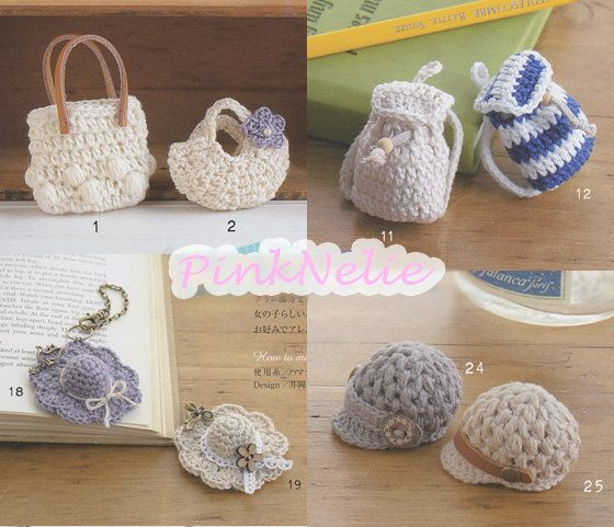 Miniature Crochet n3554 - Japanese Craft Book