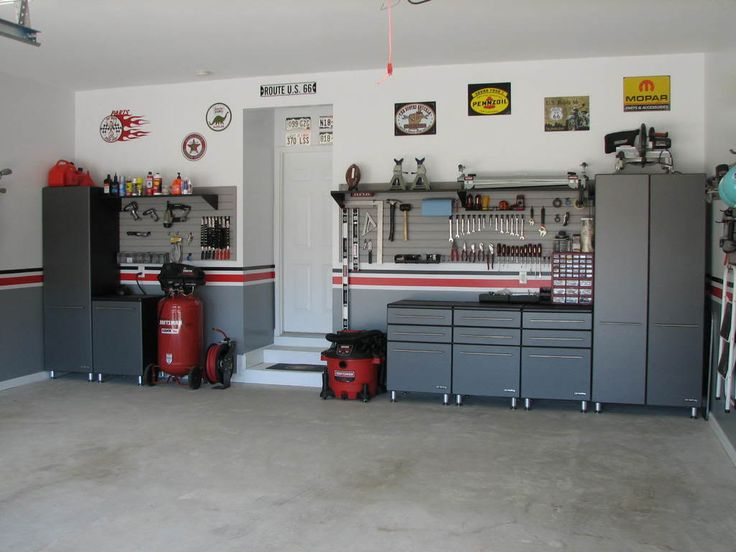 7 best man cave garages images on pinterest garage man for Small two car garage